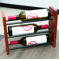 VintageView Vintage View Table Top Wine Rack