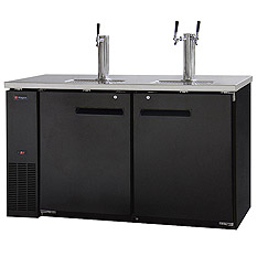 3 Full Size Keg Beer Refrigerators