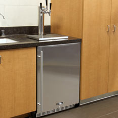 Kegco Undercounter Built-In Kegerators